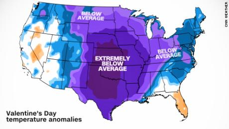 It won't just be cold this weekend, it will be ABNORMALLY cold.