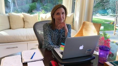 Amy Jo Smith, president and CEO of the Digital Entertainment Group, decided to give up her organization's office space so that she and her team can continue working from home after the pandemic.