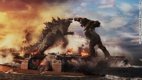 """Two of film's greatest monsters duke it out this weekend in """"Godzilla vs. Kong."""""""