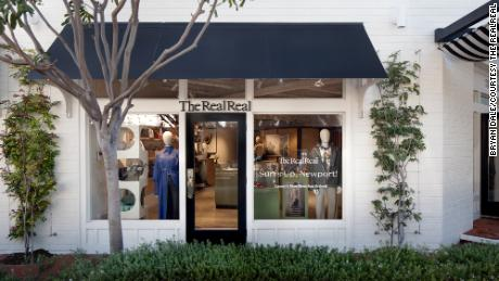 Logo-heavy products are favored by shoppers at the store in Newport Beach, California.